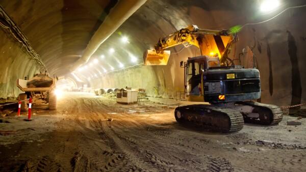 Construcción de túnel