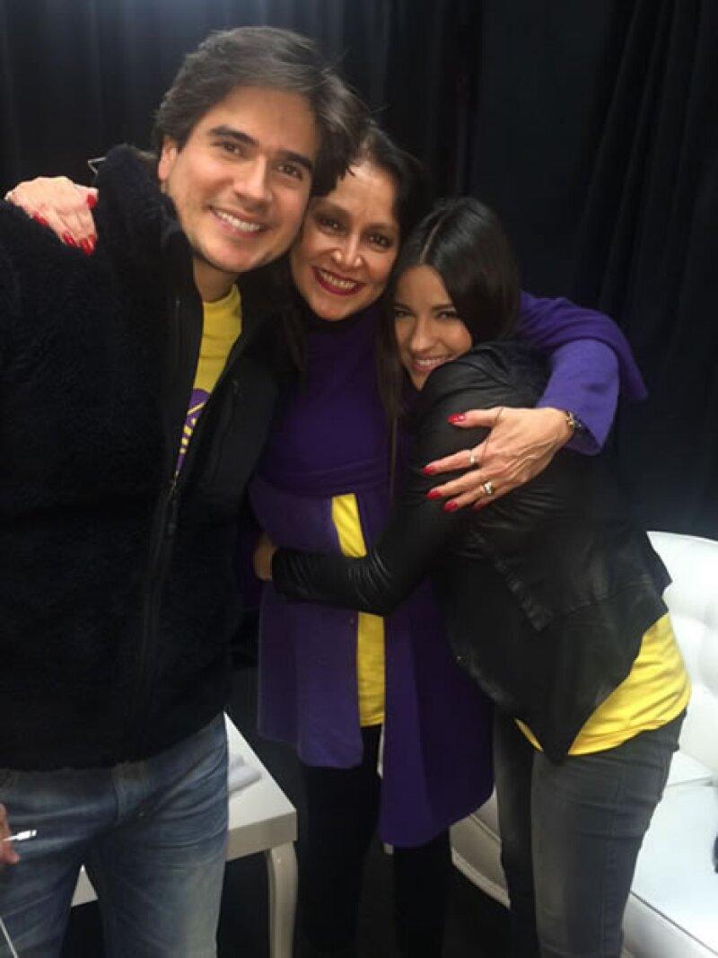 Daniel Arenas, Daniela Romo, Maite Perroni