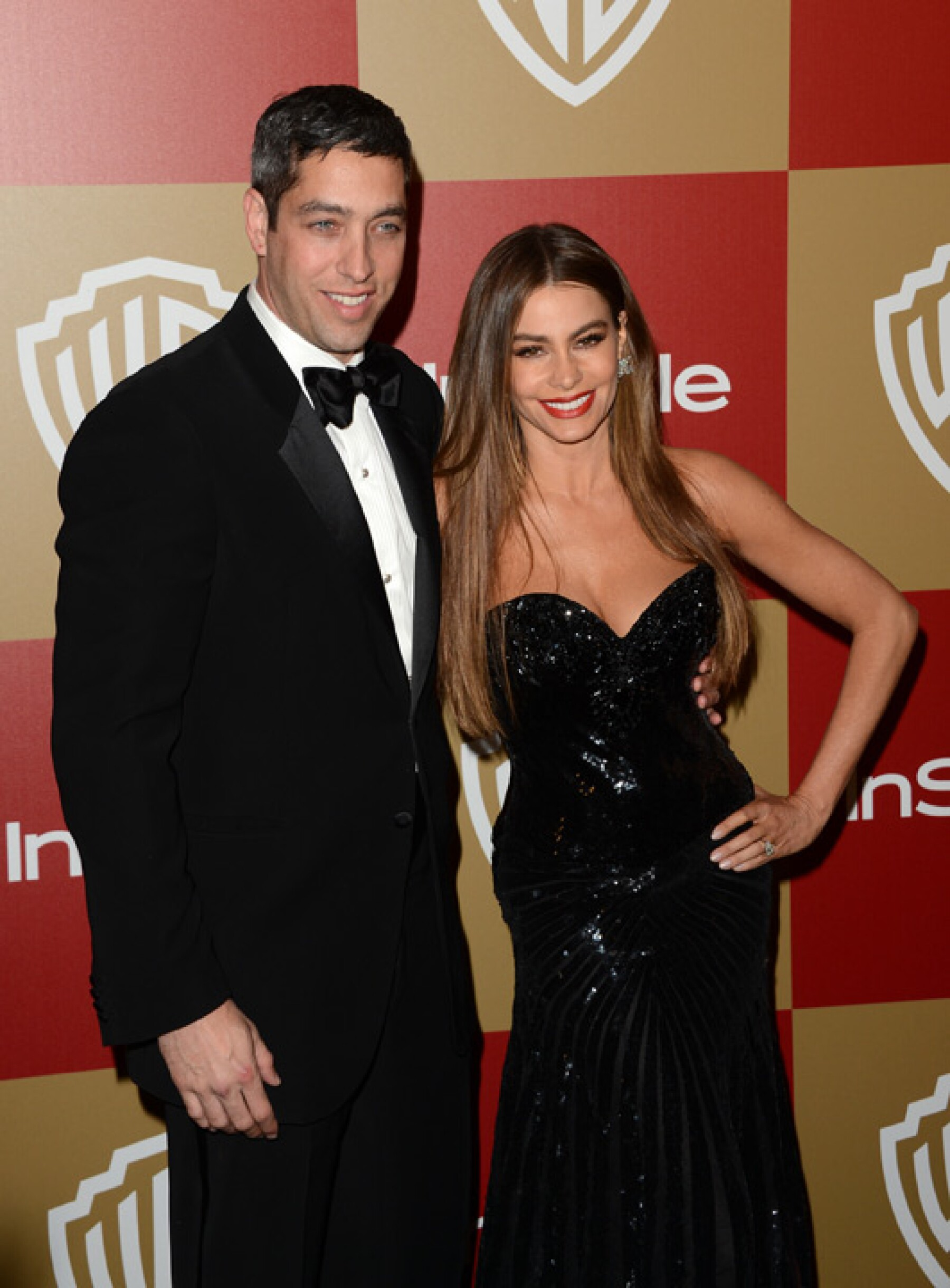 Sofía Vergara y su prometido, Nick Loeb.