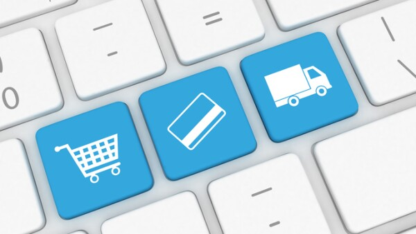 E-Commerce - internet shopping, payment, shipping delivery