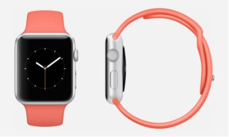 La versión deportiva del Apple Watch viene con extensibles de colores. (Foto: tomada de Mix Your Watch )