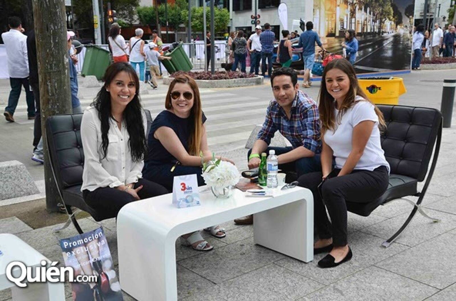 Mariana Gómez,Susan Sanc,Humbero Sorio y Karen Sanc.