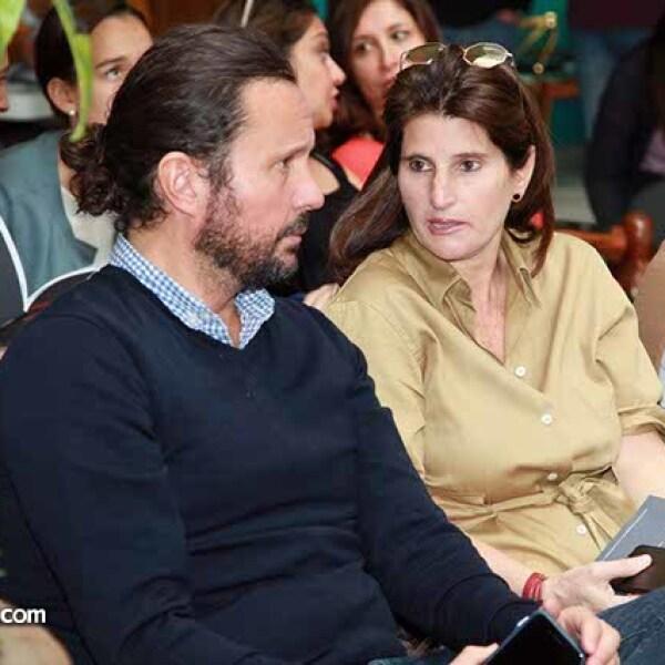 Eduardo Prieto y Oriana Vargas