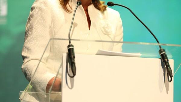 La Secretaria de Relaciones Exteriores de México formó parte de un panel en el Encuentro Internacional Mujeres en la Economía del Conocimiento y la Innovación.