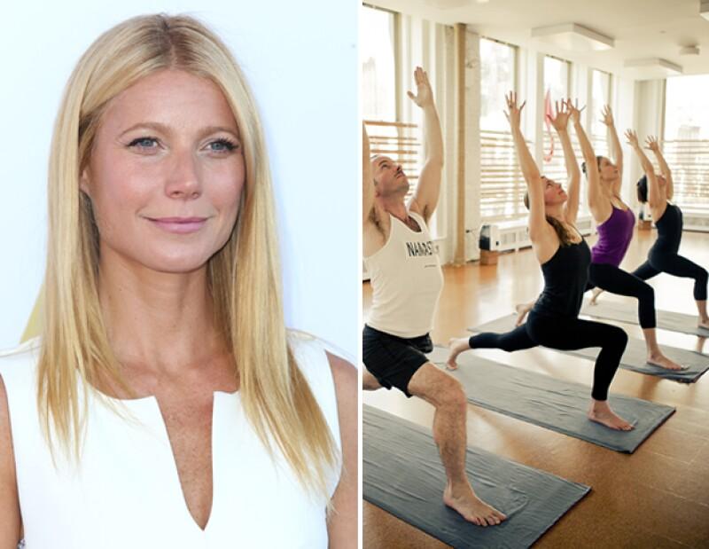 Ella es una de las muchas fans de Hot Yoga.