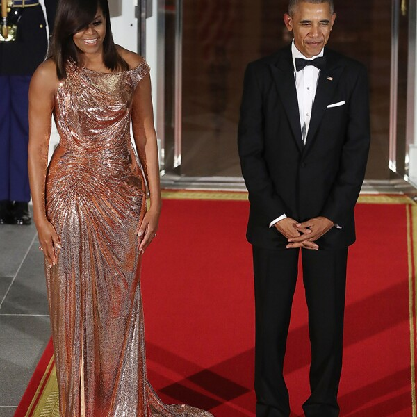 President And Mrs. Obama Host State Dinner For Italian PM Renzi