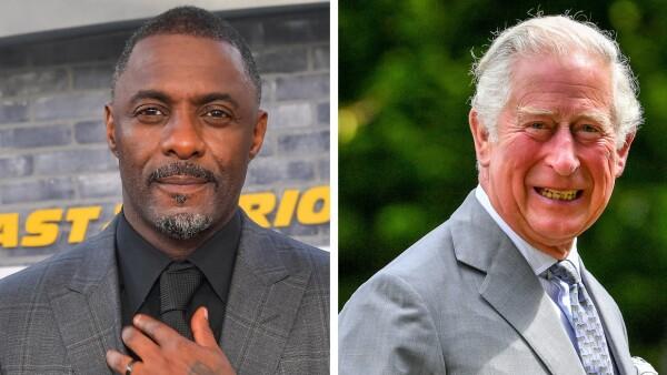 Idris Elba y el príncipe Carlos