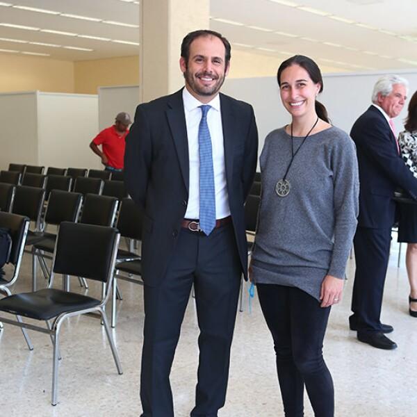 Luis Miguel Pérez y Mariana Lorenzo