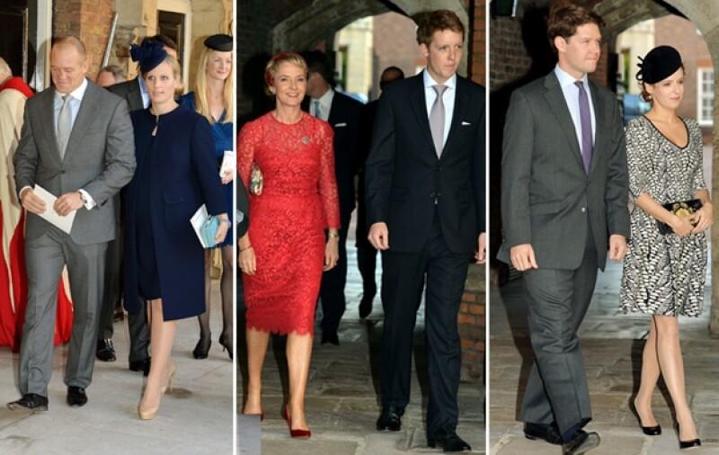Zara Phillips fue de la única madrina de la familia real.