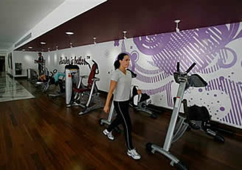 El gimnasio cuenta con aparatos con alta tecnología, elegidos por la cantante. (Foto: AP)