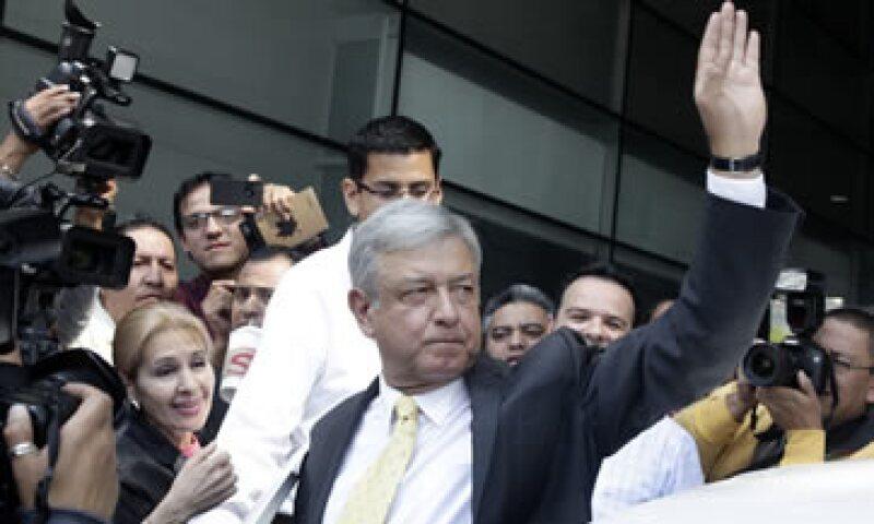 En las encuestas, López Obrador ganó en tres de cinco variables. (Foto: Reuters)