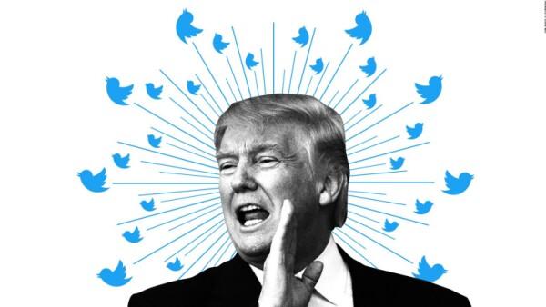 Pese a la emergencia con Harvey, Trump siguió sus peleas en Twitter