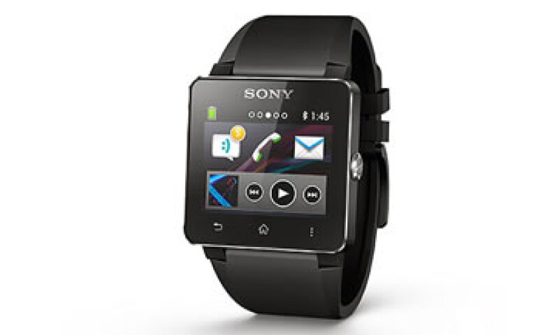 El SmartWatch 2 de Sony es una secuela del SmartWatch de 2012, que fue un fracaso en ventas. (Foto: Cortesía de CNNMoney)