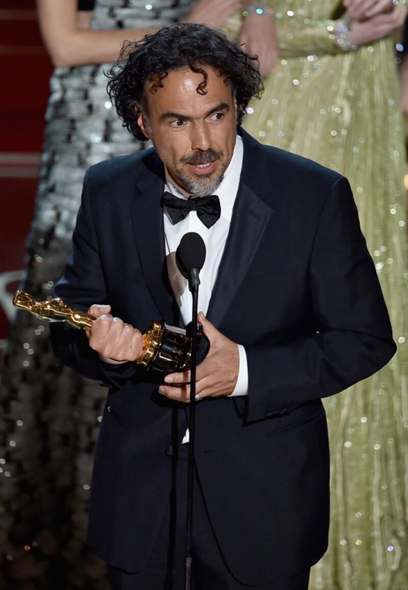 Famosos mexicanos celebraron con orgullo al cineasta y su discurso de aceptación en esta edición de los Premios de la Academia. Esto fue lo que tuitearon.