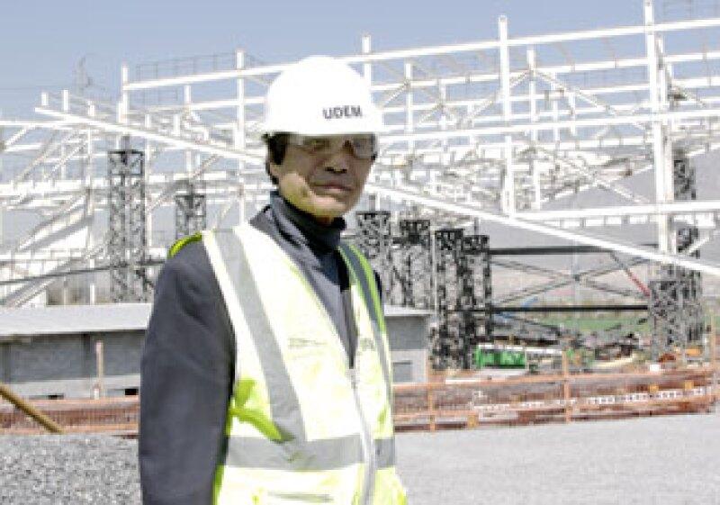 El arquitecto japonés Tadao Ando supervisó el avance de 'Puerta de la Creación', el primer proyecto que construye en América Latina.  (Foto: Cortesía Universidad de Monterrey)