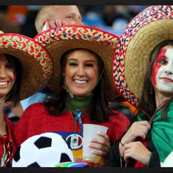 Aficionadas mexicanas
