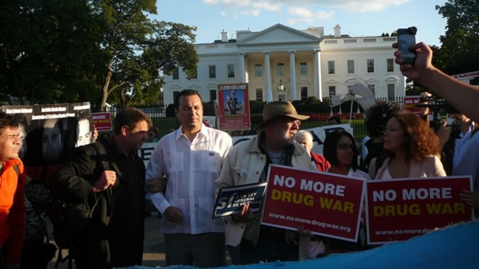 La caravana por la paz llega a Washington