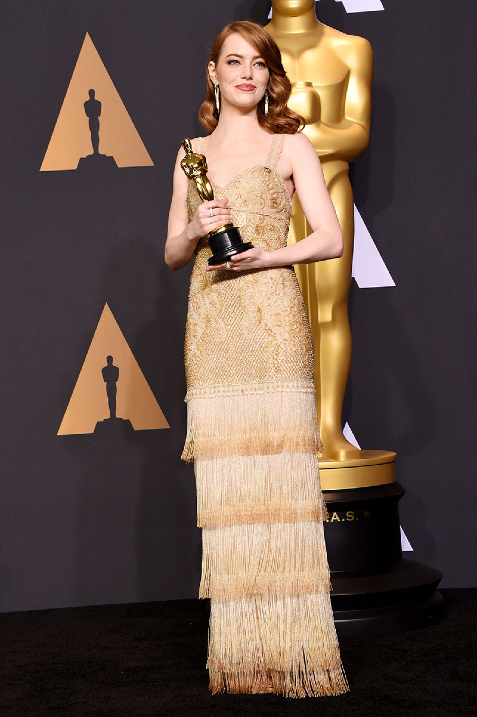 89th Annual Academy Awards, Press Room, Los Angeles, USA - 26 Feb 2017