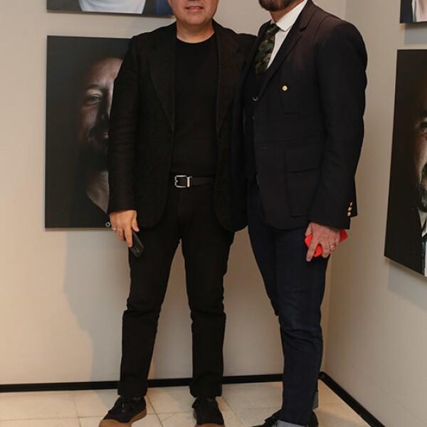 Alessio Hagen y Germán Velasco