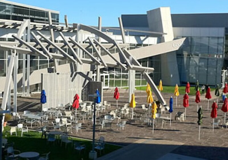 Las oficinas de Google en Mountain View, California (Foto: Fortune)