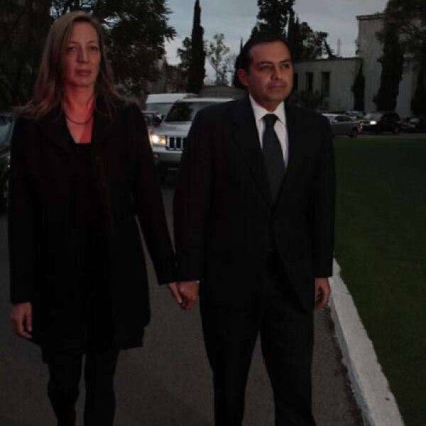 Cristina Keller y Ernesto Cordero.