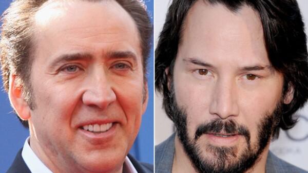 ¿Podrías creer que Nicolas Cage y Keanu Reeves tienen la misma edad? Pues sí, tienen 51 años.