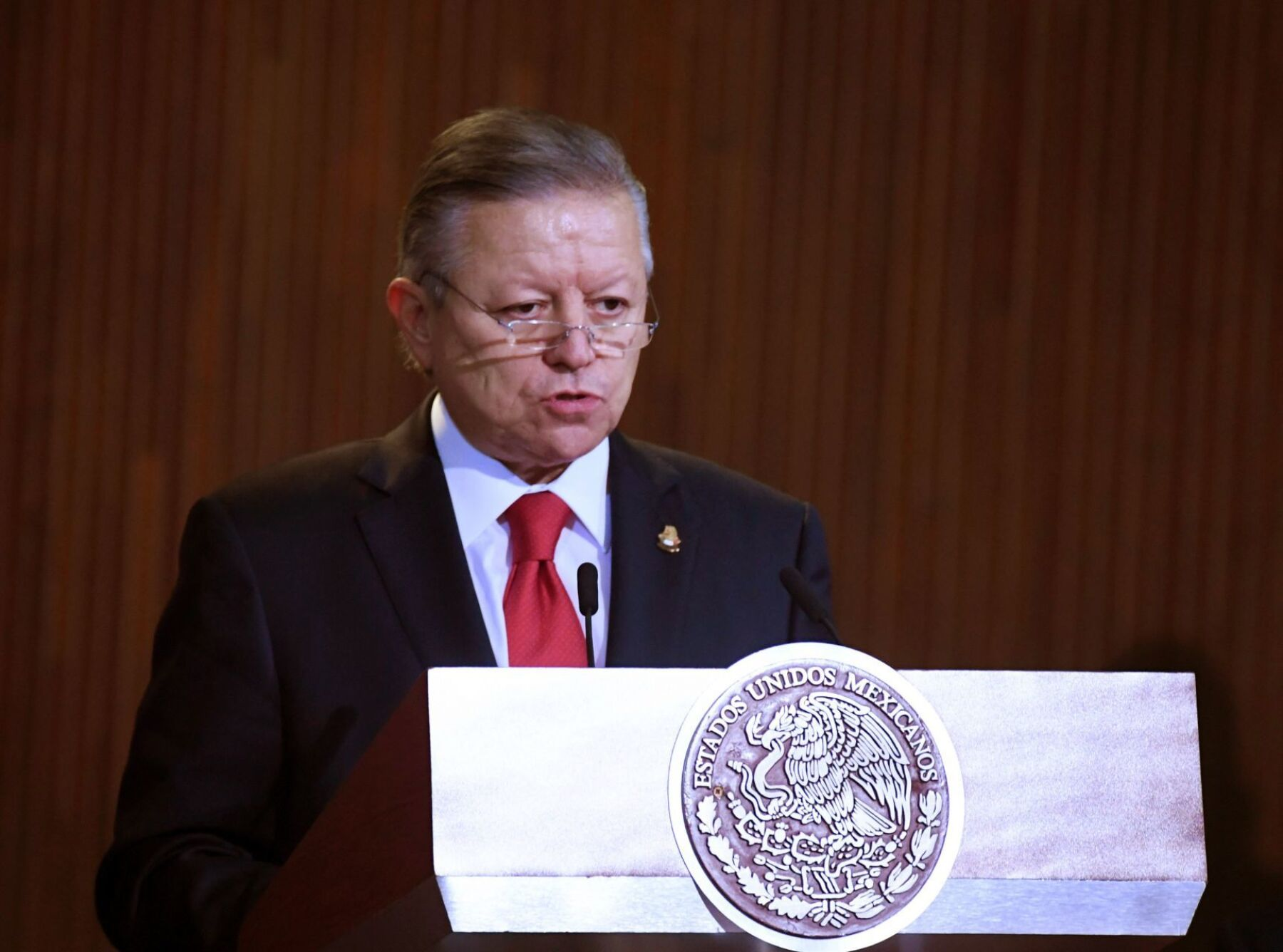 El ministro presidente Arturo Zaldívar