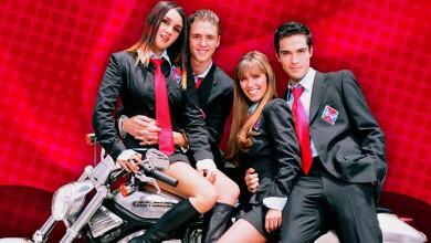 La telenovela Rebelde (2004) fue tan exitosa que derivó en otro hit, el grupo musical RBD.