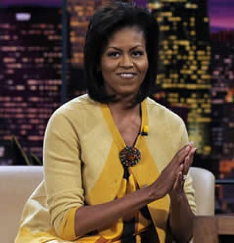 Michelle Obama aparece en la lista de los 100 más lindos de la revista People. (Foto: AP)