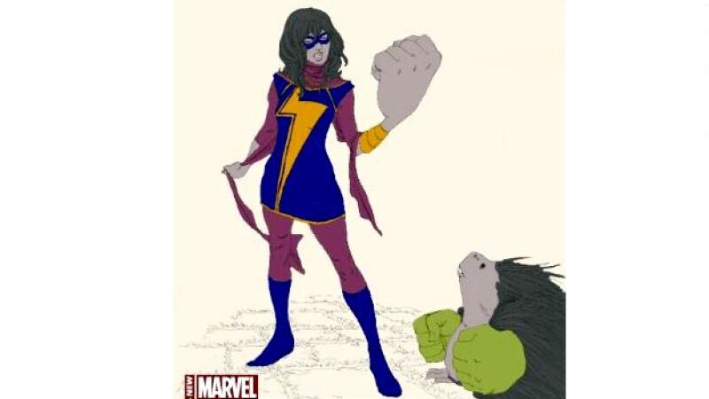 superheroe musulmana marvel