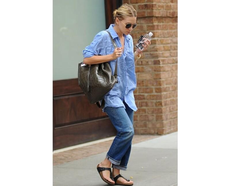 Desde que Mary Kate fue sorprendida portando el modelo Gizeh más fashionistas se han atrevido a usarlas.