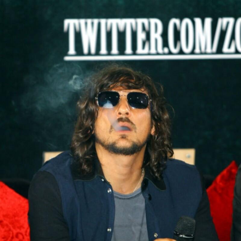 Durante su exitoso concierto de este fin de semana en el Foro Sol de la Ciudad de México, el cantante aprovechó para expresar su opinión sobre la situación del país.