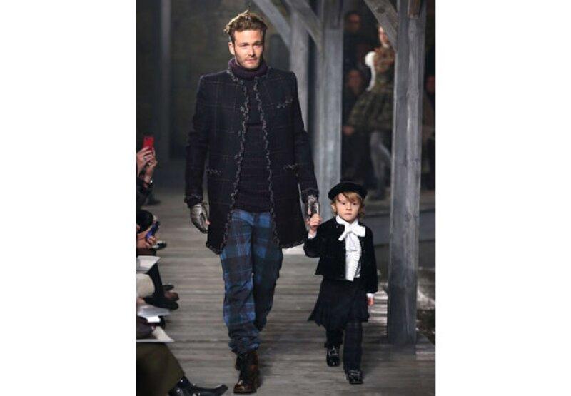 Ambos viajan en el jet privado de Karl Lagerfeld.