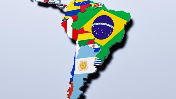 América Latina países economía