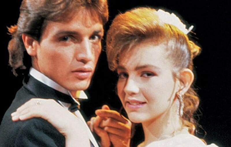 Rafael Rojas actuó junto a Thalía en la telenovela `Quinceañera´ en 1987.