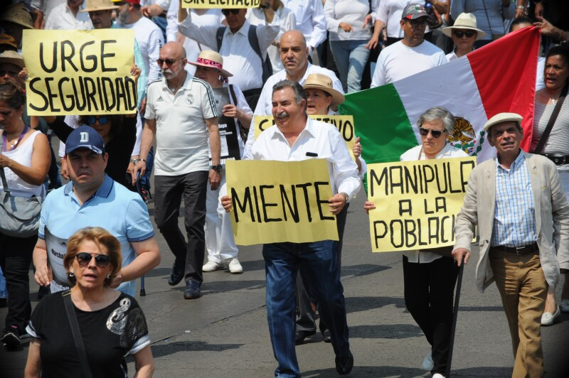 Marchas AMLO