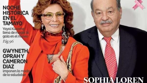 La diva italiana conversó con Quién® y contó cómo conoció al empresario mexicano, quien le organizó un homenaje por sus 80 años de vida.
