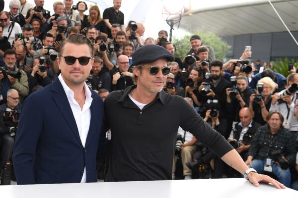 Brad Pitt y Leonardo DiCaprio.