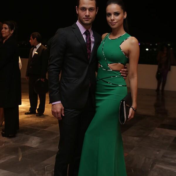 Mariano Palacios y Vanesa Restrepo