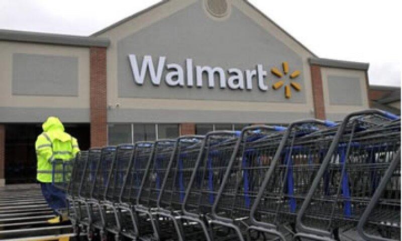 Walmart indicó que las protestas son parte de otra exagerada campaña contra la empresa.  (Foto: AP)