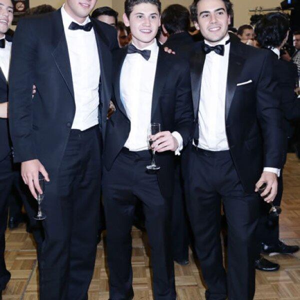 Santiago Rois,José Aguilar y Luis Alarcón