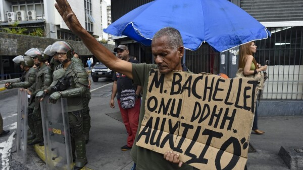 VENEZUELA-CRISIS-HUNGER-STRIKE-PROTEST