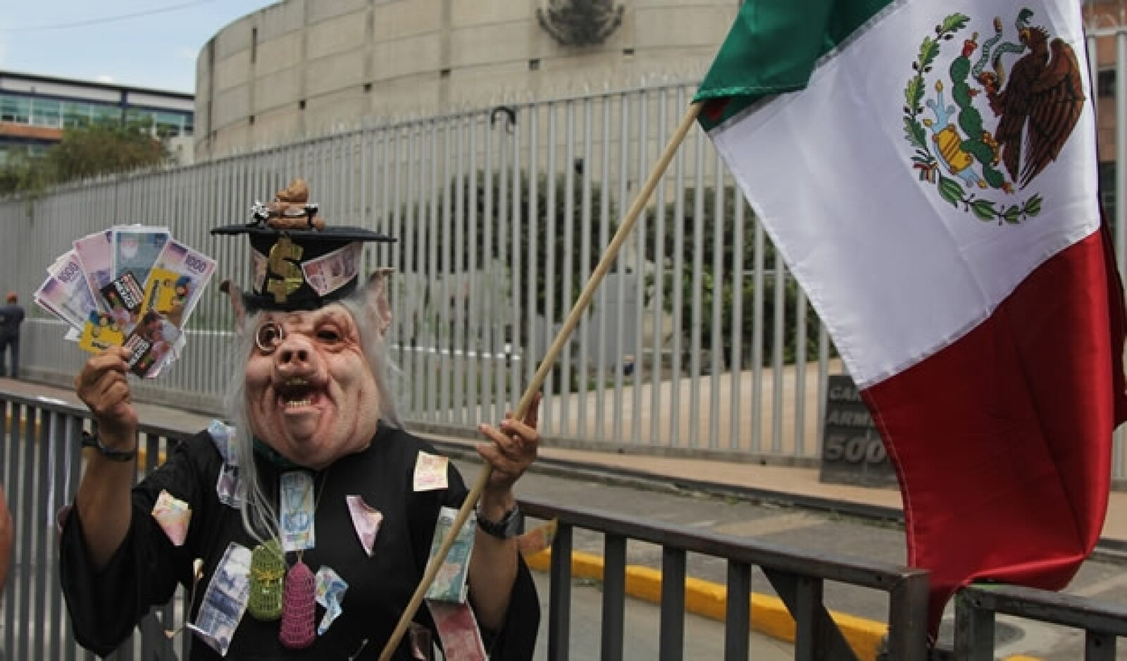 Tribunal Electoral protesta 2