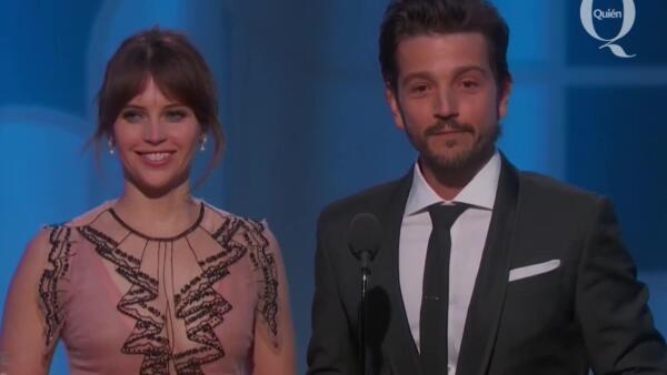 Momento que despertó el orgullo de los mexicanos en los Golden Globes