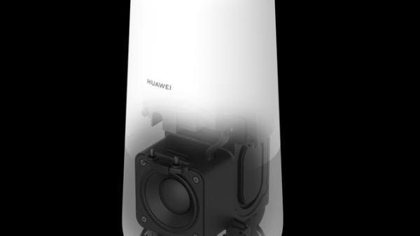 La bocina inteligente de Huawei es un dispositivo dos en uno: un parlante con inteligencia artificial y un router 4G.