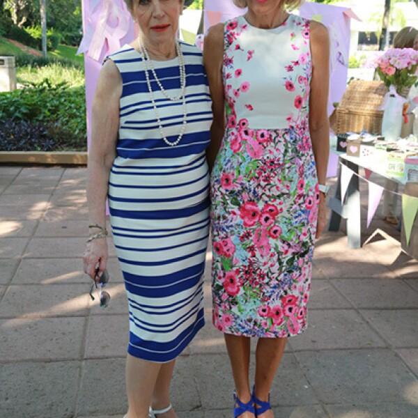 Virginia Fuentes y Jacqueline Van Hoorde
