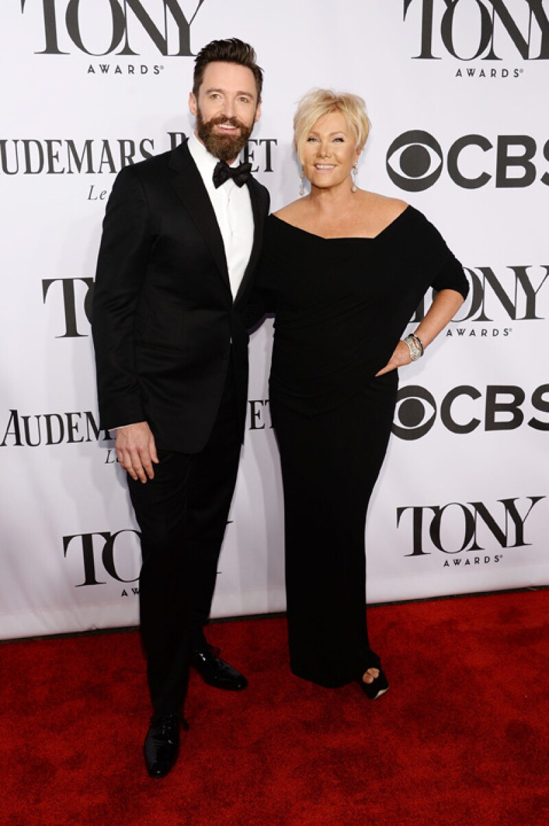Hugh Jackman y su esposa, Deborra-Lee Furness.