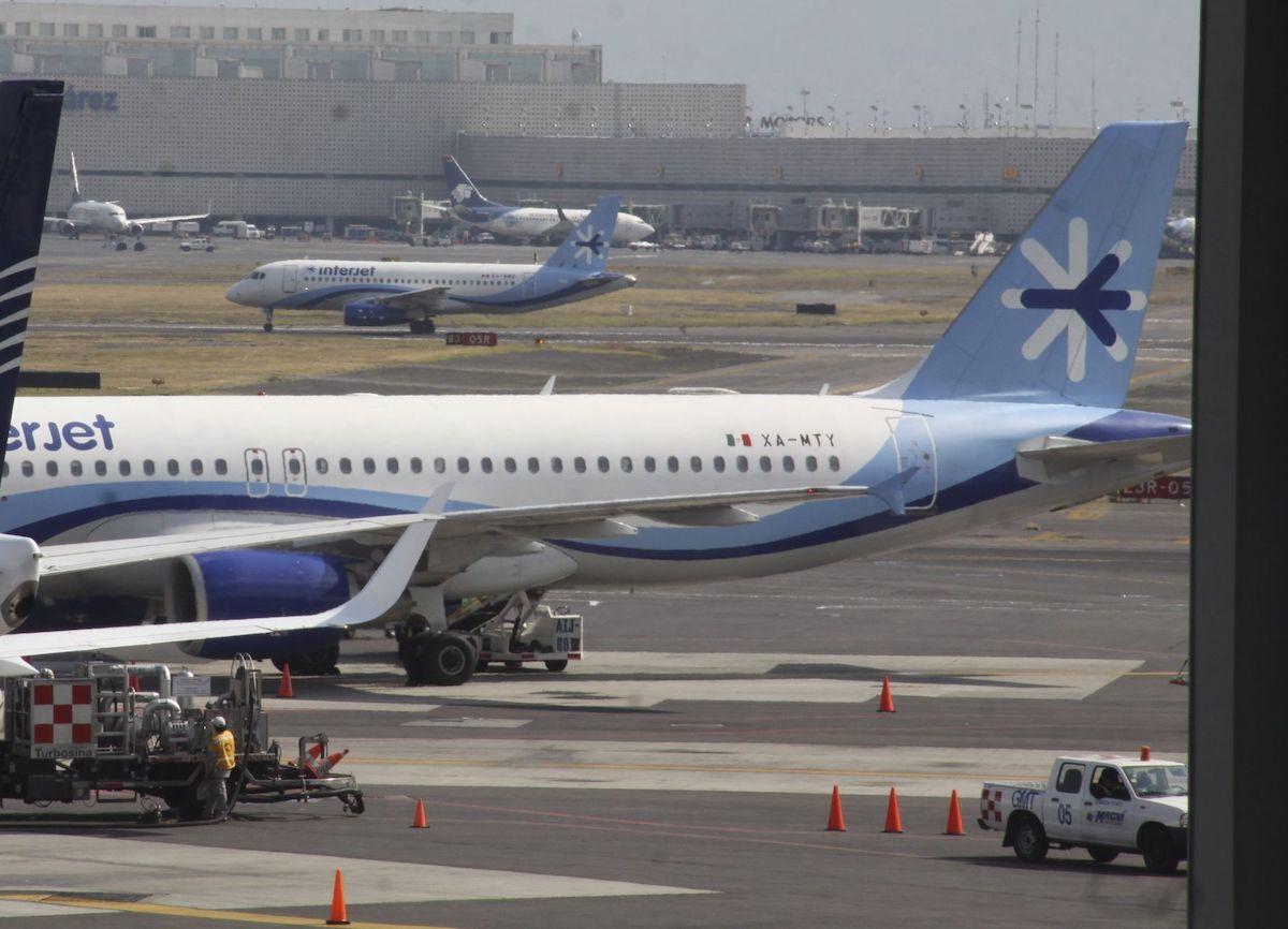 Los arrendadores de Interjet embargan 27 de sus aviones