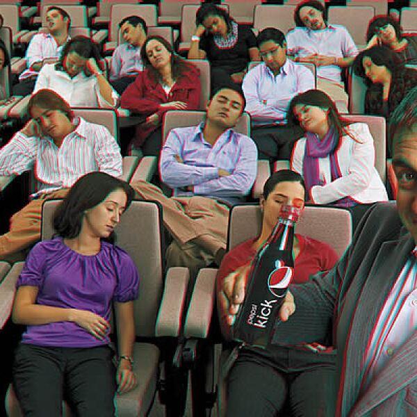 Joaquín Anderson, director de Mercadotecnia de Bebidas de Cola de Pepsico de México. CAMPAÑA: Despierta. PRODUCTO: Pepsi Kick. AGENCIA: BBDO México.