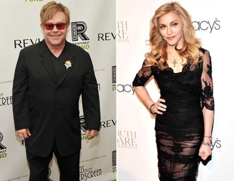 La cantante estadunidense y el músico británico  dejaron atrás su enemistad, después de encontrarse en un restaurante de París, Francia.